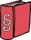 ein Gesetz-Buch